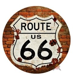 Aro decorativo 16cm - Route 66