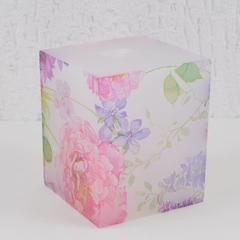 Vela Quadrada SUMMER FLOWERS Decoupage