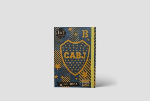 AnotaEco II A6 Liso Boca Juniors