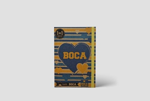 AnotaEco V A6 Liso Boca Juniors