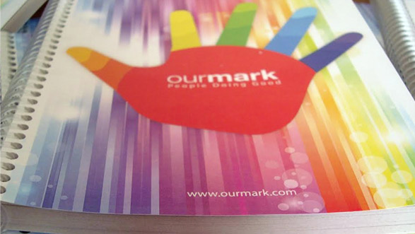 OurMark People doing good Cuadernos