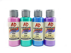 Acrilico decorativo AD 60ml. Amarillo perlado