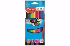 Lapices Maped Colorpeps x 12u