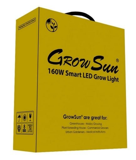 5G - GrowSun Series 160W - LED Grow Light 12 bands - E. Shine systems na internet