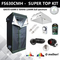 FS630CMH - SUPER TOP KIT - CULTIVO INDOOR - 1,20 X 1,20 X 2M
