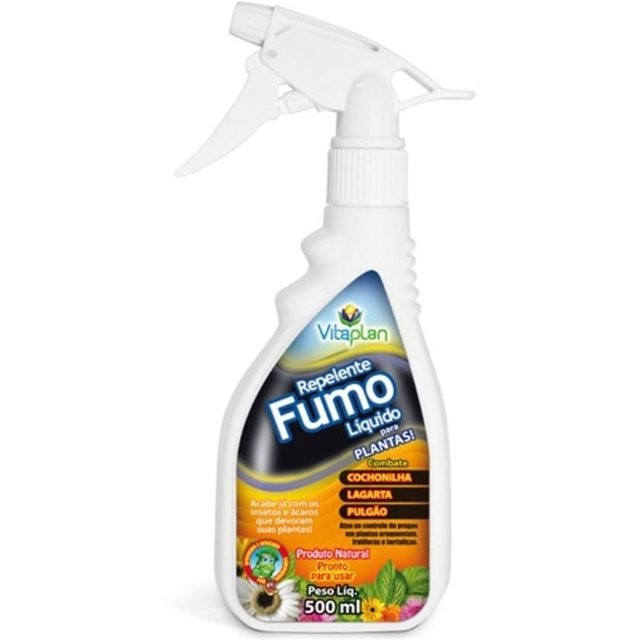 Repelente natural fumo líquido Vitaplan - 500ml