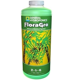 Fertilizante FLORAGRO - General Hydroponics - 473 ml