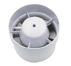 "Exaustor Plastic Fan Axial - 130 m3/h - 100mm - 4"" - 220Vca na internet"