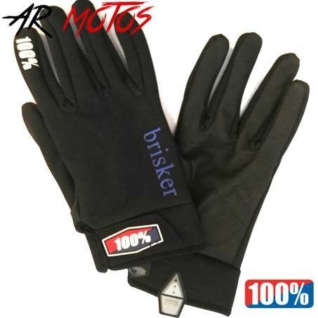 Guantes Unisex 100% Racing Soft Shell reforzados