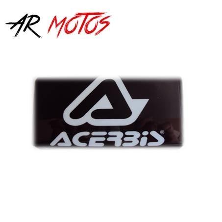 Pad Acerbis para Manubrio Modelo WR5 color negro, gráfica blanca