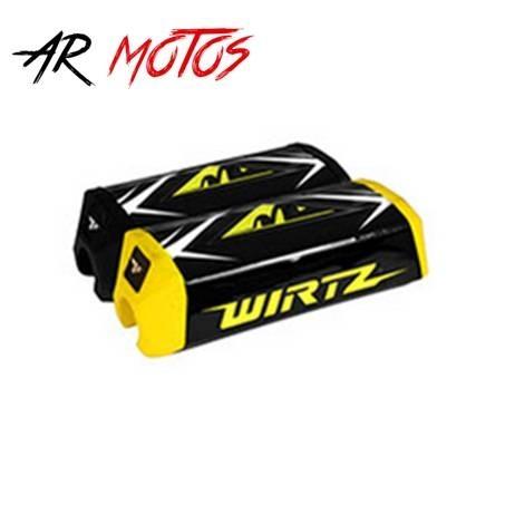 Pad Wirtz para Manubrio WR5 color negro y amarillo