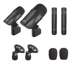 Tm-drums Tascam Four-microphone Kit For Drum Rec - comprar online