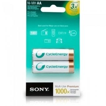 Pilas SONY AA 2100 (Blister x2) - comprar online