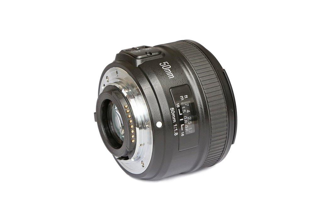 Lente YN50mm f1.8 Nikon Autofoco - YONGNUO ARGENTINA
