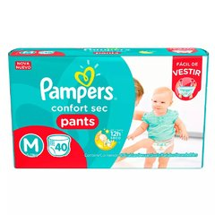 PAÑALES PAMPERS PANTS MEDIANO 40PADS X 2PAQ HIPERPACK