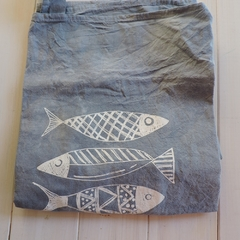Delantal Estampa de Peces - Patch-In by Gaby Caporale