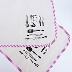 Individuales Estampa Cocina - Patch-In by Gaby Caporale
