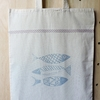 Totebag Peces - Patch-In by Gaby Caporale