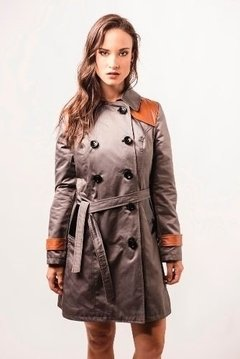 TRENCH PILOTO GRIGIO GRIS - LeTIEND |  by GIACCA