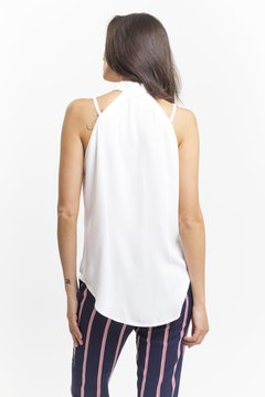 Blusa GIANNA Blanca - LeTIEND |  by GIACCA
