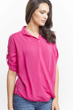 Camisa SAN BENEDETTA Fucsia - LeTIEND |  by GIACCA