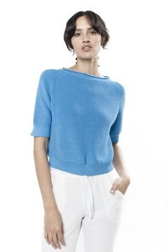 Sweater PICCOLO  Celeste en internet