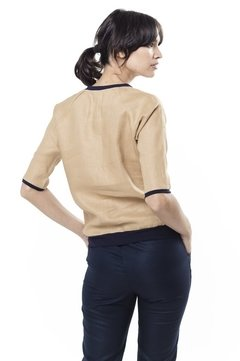 Blusa BOMBER Camel - LeTIEND |  by GIACCA