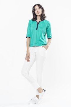Blusa BOMBER  Verde on internet