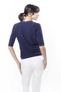 Blusa BOMBER Azul on internet