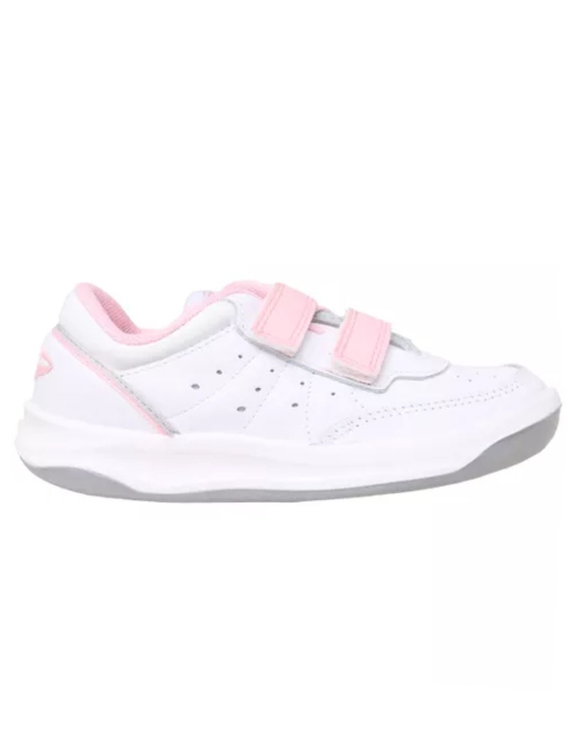 ZAPATILLAS TOPPER X FORCER KIDS ABROJO BLANCO ROSA (23578)