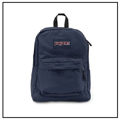 MOCHILA JANSPORT SUPERBREAK NAVY (JS00T501003) en internet
