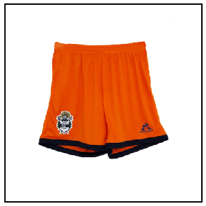 SHORT GELP LE COQ KIDS HOME GOALKEEPER ORANGE (LCQ2990910) - American Sports