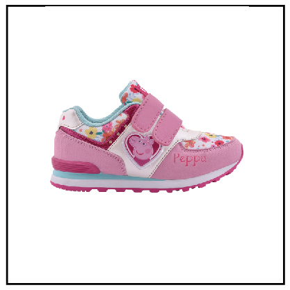 *PROMO* PEPPA PIG CON LUZ BLANCO / ROSA PPX945 $1099 (PPX945) - American Sports