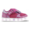 ZAPATILLAS FOOTY PEPPA PIG ABROJO REVERSIBLE ROSA BLANCO (PPX953)