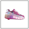 ZAPATILLAS FOOTY ROLLER DREAM ROSE LED CON RUEDAS (FXR19)