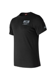 REMERA NEW BALANCE NUMERIC STACKED TEE BLACK (N2N065004550)