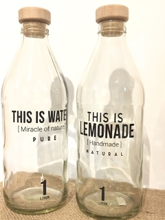"Botellas ""This Is"" en internet"
