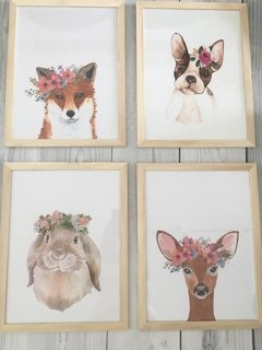 Cuadros Animales Flowers