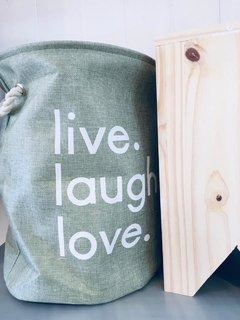 Cesto live,laugh,love - comprar online