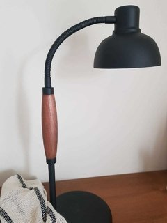 Lampara black & wood en internet
