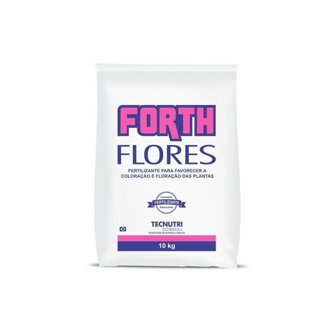 Fertilizante Forth Flores 10kg rende 200m²