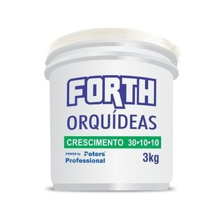 fertilizante Forth Peters p/ orquídeas 30-10-10 crescimento 3kg
