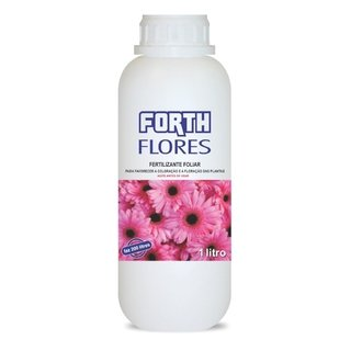 fertilizante Forth Flores concentrado rende 200litros