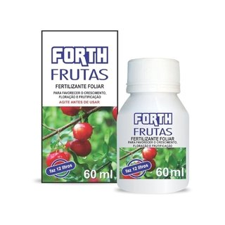 fertilizante forth frutas rende 12 litros