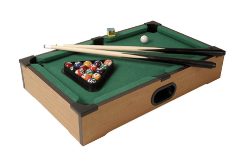 Mini Mesa Sinuca Bilhar Snooker 51x31x9,5cm