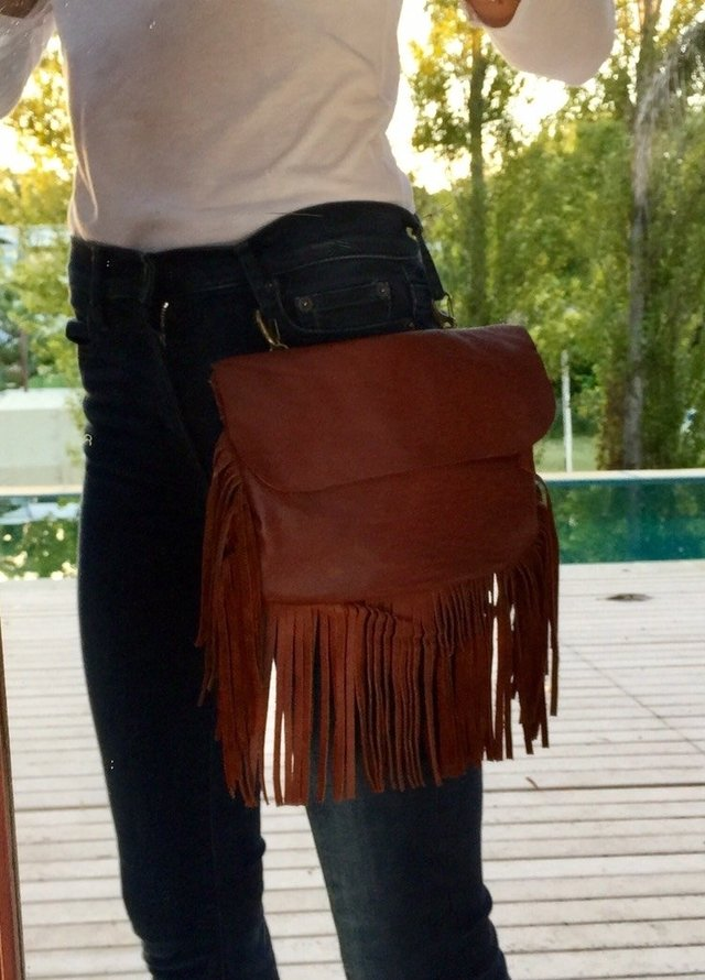 Belt Bag - Riñonera con Flecos - Cow Industries