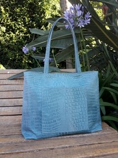 Beach Bag Croco Luxe