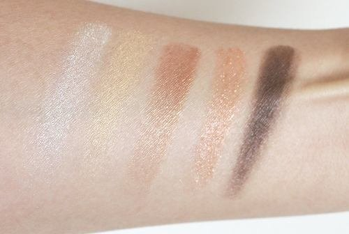 Paleta Veluxe Pearlfusion Shadow Amberluxe na internet
