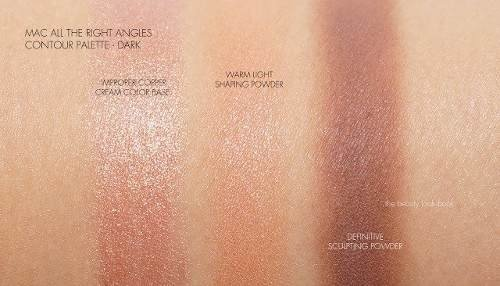 MAC Paleta De Contorno All The Right Angles - Dark na internet
