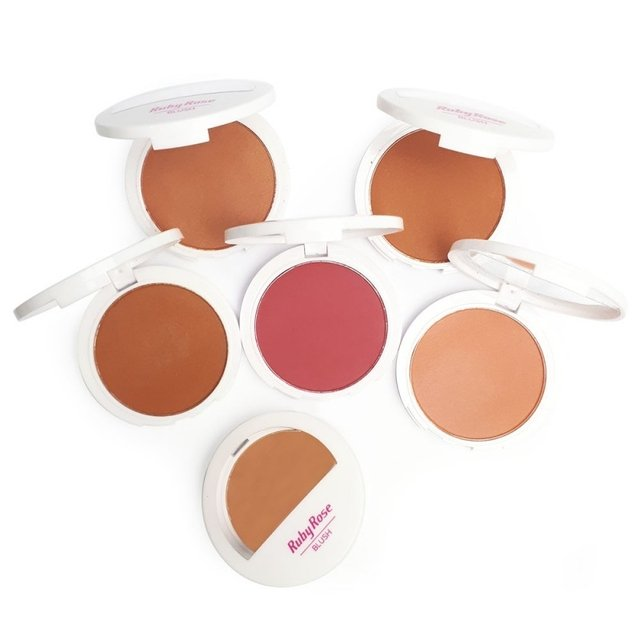 Kit com 6 Blushes HB6106 RUBY ROSE - comprar online